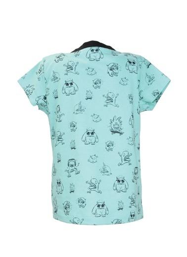 Zeyland Yeşil Monster Desenli T-Shirt (9ay-7yaş) Yeşil Monster Desenli T-Shirt (9ay-7yaş) Yeşil